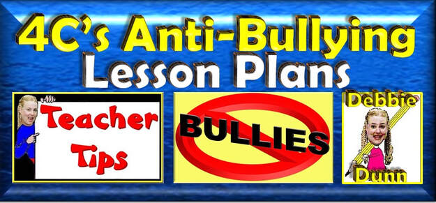 4C's Anti-Bullying Lesson Plans Books